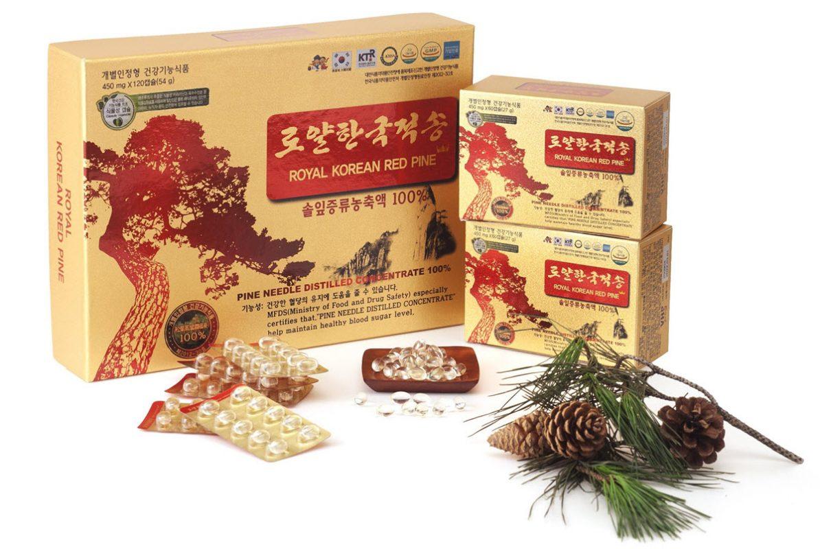 Tinh dầu thông đỏ chính phủ Hàn Quốc - Royal Korean Red Pine