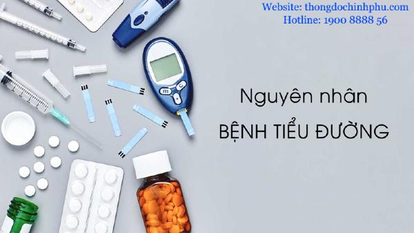 Nguyên nhân gây ra bệnh tiểu đường